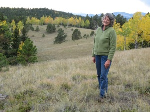 At Westerness, a private wildlife preserve west of Pikes Peak. Photo by Melinda Ewell.